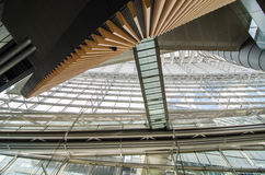 Interior of Tokyo International Forum Stock Photography