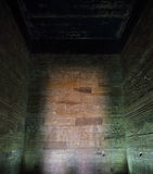 Interior of tomb in egypt Stock Photos