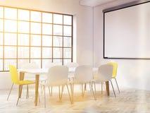 Interior tonificado com whiteboard Imagens de Stock