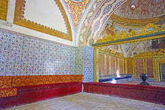 Interior of the Topkapi palace Stock Photography