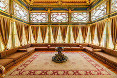 The interior of Topkapi palace Royalty Free Stock Images