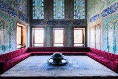 The interior of Topkapi palace Stock Photos