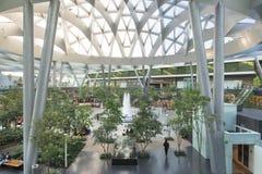 Interior of Toreo Parque Central shopping center Stock Photos