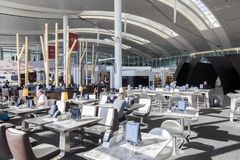 Interior of the Toronto International Airport Royalty Free Stock Images