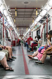 Interior of Toronto subway Royalty Free Stock Photography