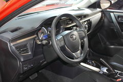 The interior of Toyota levin Stock Photography
