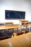 Interior tradicional de la sala de clase Fotografía de archivo libre de regalías