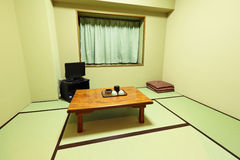 Interior of traditional japanese home Royalty Free Stock Photo