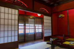 Interior of a traditional Japanese house Stock Image