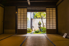 Interior of a traditional Japanese house Royalty Free Stock Photo