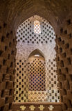 Interior of the traditional pigeon house in Yazd province, Iran. Royalty Free Stock Photos