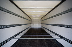 Interior of trailer Royalty Free Stock Images