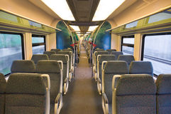 Interior of train Royalty Free Stock Photography