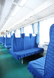Interior of train Royalty Free Stock Image