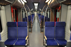 Interior of a train Royalty Free Stock Photos