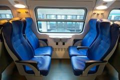 Interior of the train Royalty Free Stock Photo