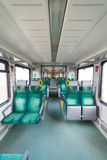 The interior of the train Royalty Free Stock Photo