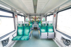The interior of the train Royalty Free Stock Photos