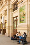 Interior. Train Station. Tours. France Stock Images