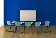 Interior of the training room Stock Photography