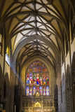 Interior of Trinity Cathedral, Manhattan, New York City Stock Images