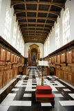 Interior of Trinity College Chapel with Lectern Royalty Free Stock Photography
