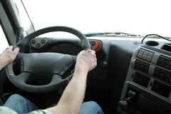 Interior of truck Royalty Free Stock Photography