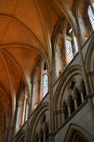 Interior of Truro Cathedral. Royalty Free Stock Image