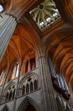 Interior of Truro Cathedral. Royalty Free Stock Photos