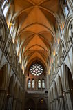 Interior of Truro Cathedral. Stock Images