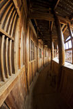 Interior of Tulou in China Stock Photography