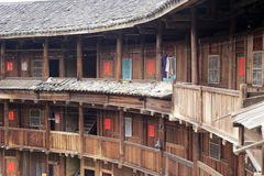 Interior of tulou Royalty Free Stock Photos