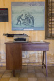 Interior of Tuol Sleng Museum or S21 Prison, Phnom Penh, Cambodi Royalty Free Stock Photos