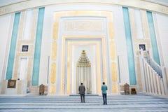 Interior turco de la mezquita imagen de archivo libre de regalías