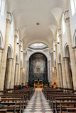 Interior of Turin Cathedral Royalty Free Stock Images