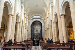 Interior of Turin Cathedral Stock Photography