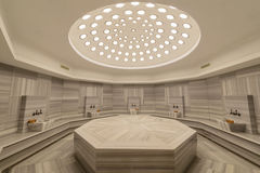 Interior of turkish bath hammam. The interior of turkish bath hammam Stock Photography