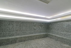 Interior of turkish bath hammam Royalty Free Stock Photos
