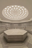 Interior of turkish bath hammam Stock Image