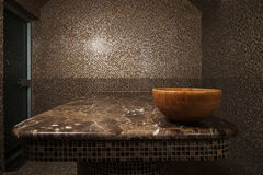 Interior of turkish bath hammam Royalty Free Stock Photography