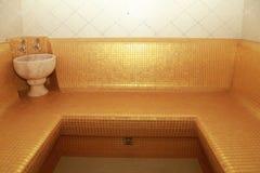 Interior of Turkish sauna - hammam Royalty Free Stock Photo