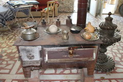 Interior Turkish village, antiques and rare Stock Images