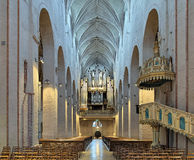 Interior of Turku Cathedral, Finland Royalty Free Stock Photo