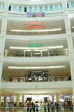 Interior of the  twin towers. Mage of the interior in Suria KLCC Shopping Complex, Kuala Lumpur, Malaysia Stock Photography