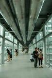 Interior of twin towers in Kuala Lumpur, Malaysia Royalty Free Stock Image