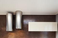 Interior, two cooker hoods Royalty Free Stock Image