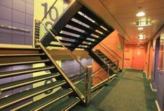 Interior ultrarrápido de la nave Fotografía de archivo libre de regalías