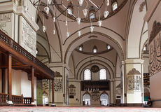 Interior of Ulu mosque in Bursa, Turkey Stock Photography