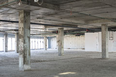 Interior under construction Royalty Free Stock Photography