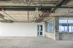 Interior under construction Stock Image